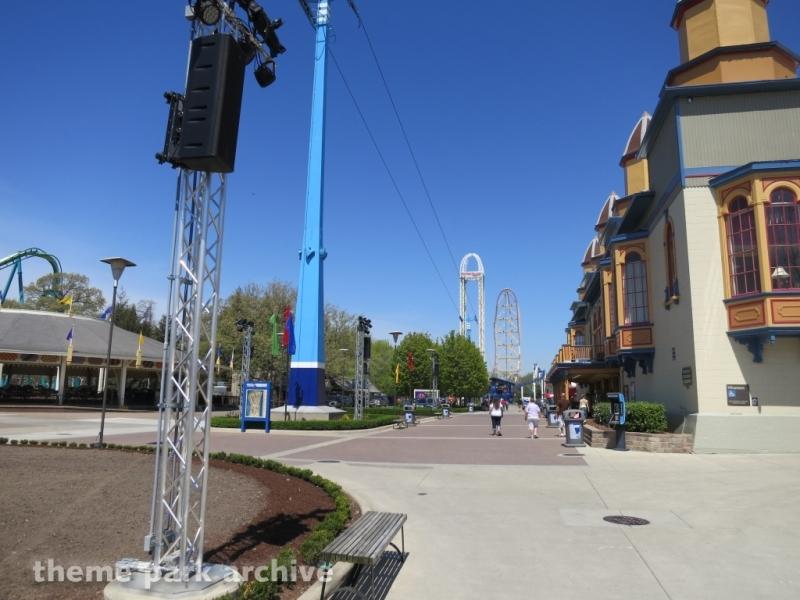 Sky Ride at Cedar Point