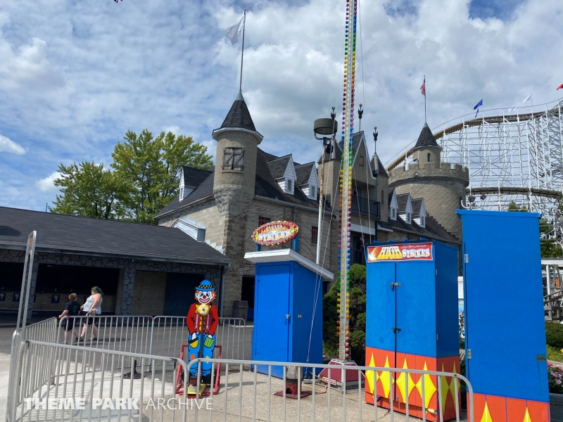 Frankenstein's Castle at Indiana Beach