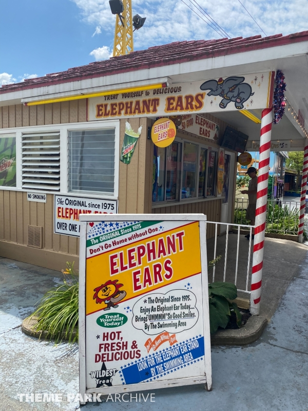 Elephant Ears at Indiana Beach
