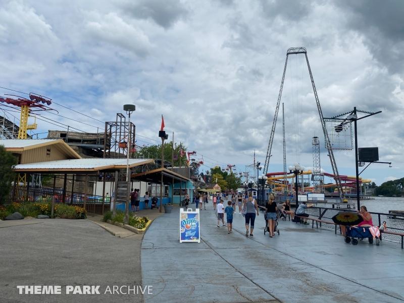 Sky Coaster at Indiana Beach