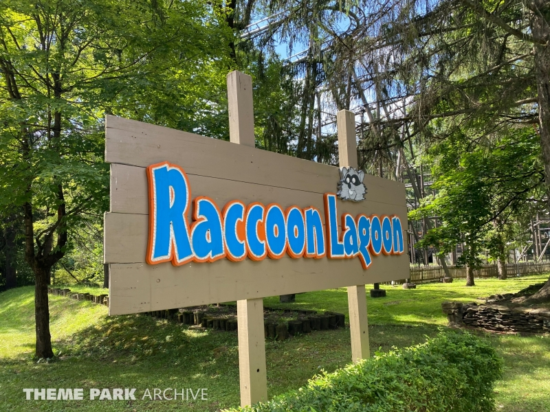 Raccoon Lagoon at Idlewild and SoakZone