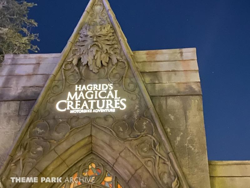 Hagrid's Magical Creatures Motorbike Adventure at Universal Islands of Adventure