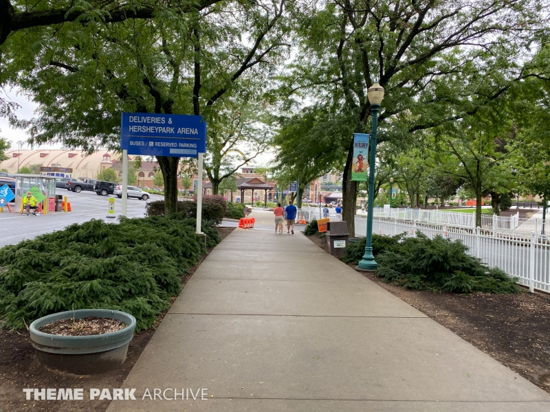 Entrance at Hersheypark