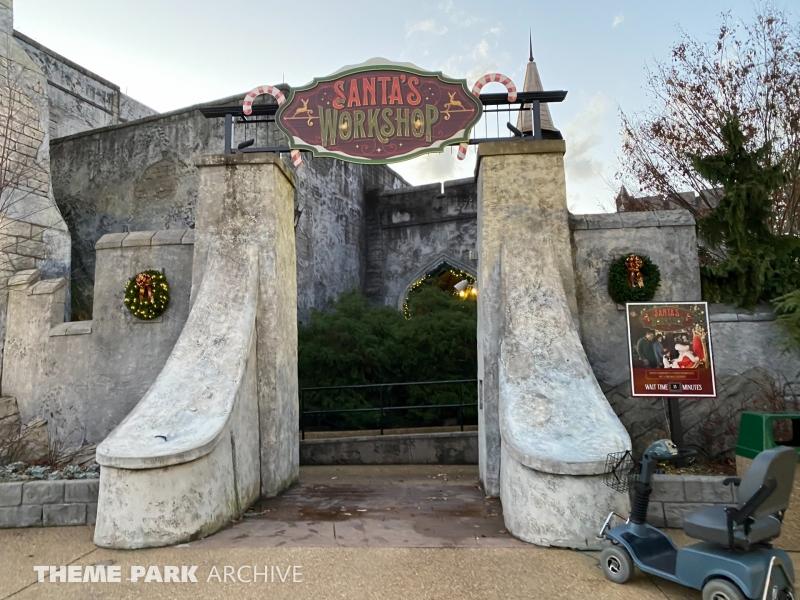 Christmas Town at Busch Gardens Williamsburg