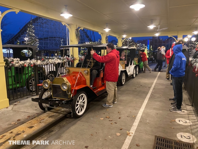 Kings Mills Antique Autos at Kings Island