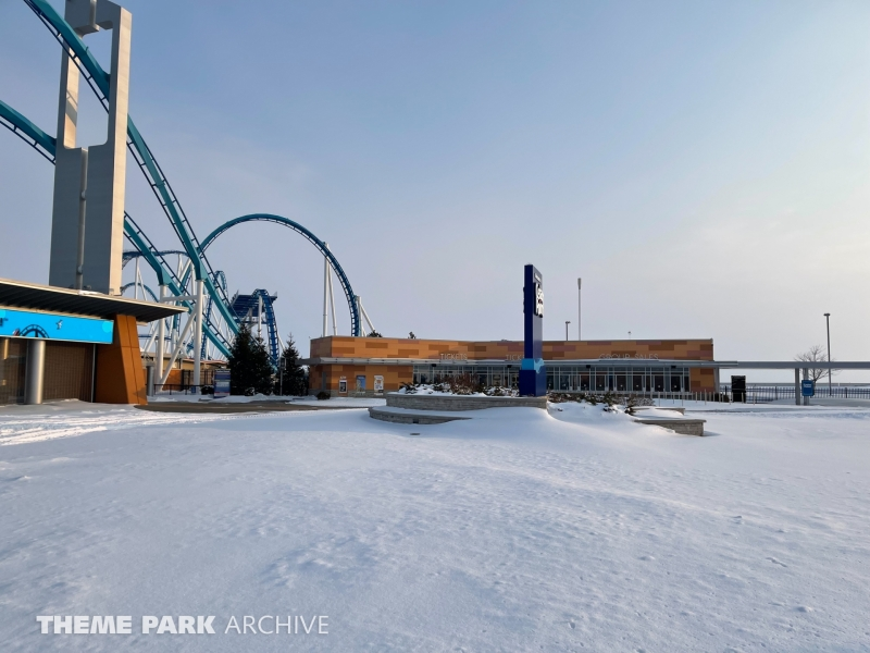 Entrance at Cedar Point
