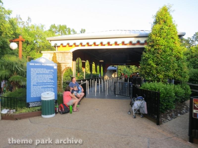 Roman Rapids at Busch Gardens Williamsburg