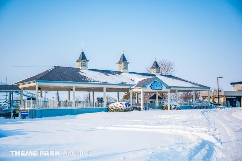 Blue Streak at Cedar Point