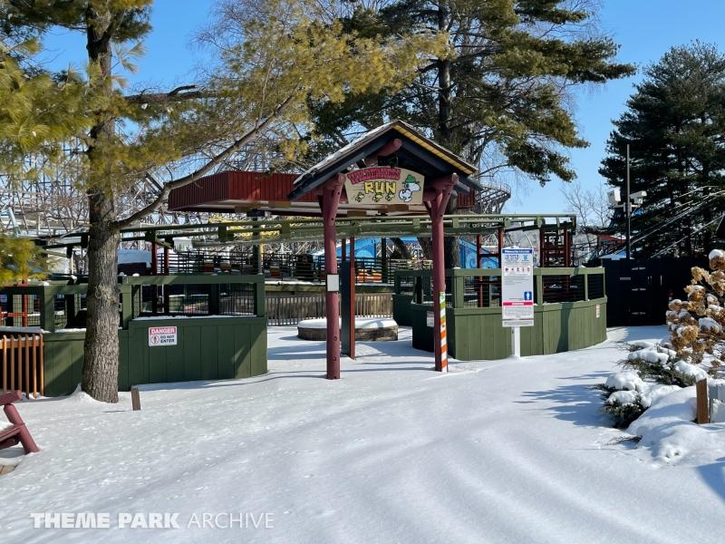 Wilderness Run at Cedar Point