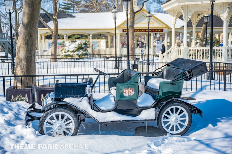 Antique Cars at Cedar Point