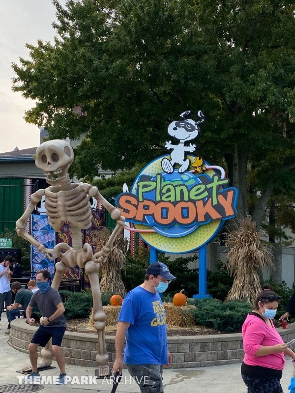 Planet Snoopy at Cedar Point