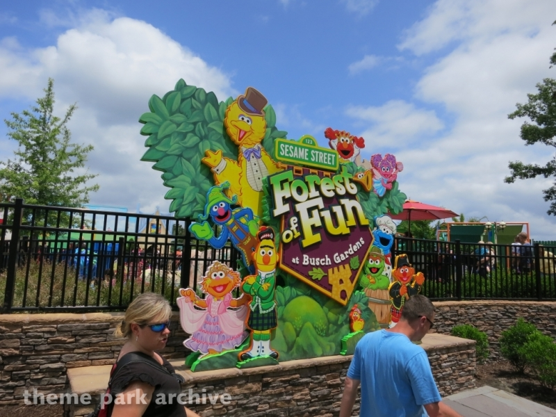Sesame Street Forest of Fun at Busch Gardens Williamsburg