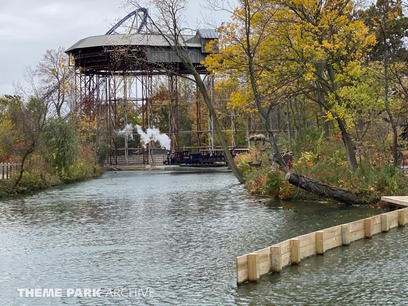 CP & LE Railroad at Cedar Point
