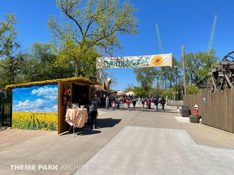 Frontier Town at Cedar Point