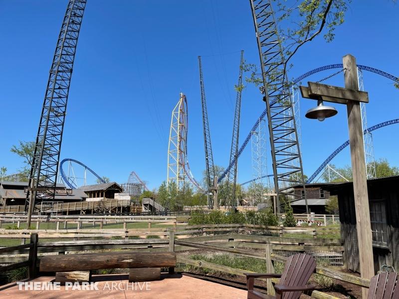 Professor Delbert's Frontier Fling at Cedar Point