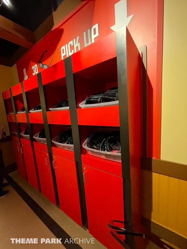 LEGO NINJAGO The Ride at LEGOLAND New York
