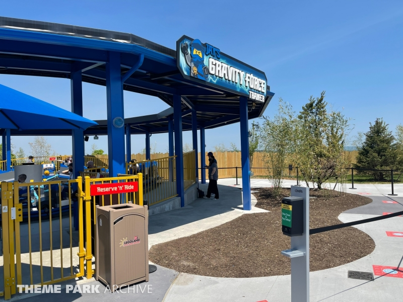 Jay's Gravity Force Trainer at LEGOLAND New York