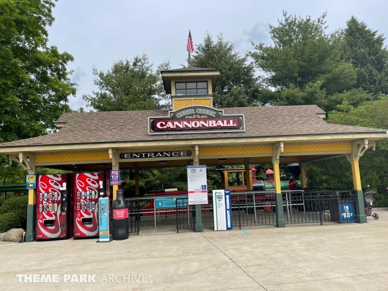 Cedar Creek Cannonball at Dorney Park