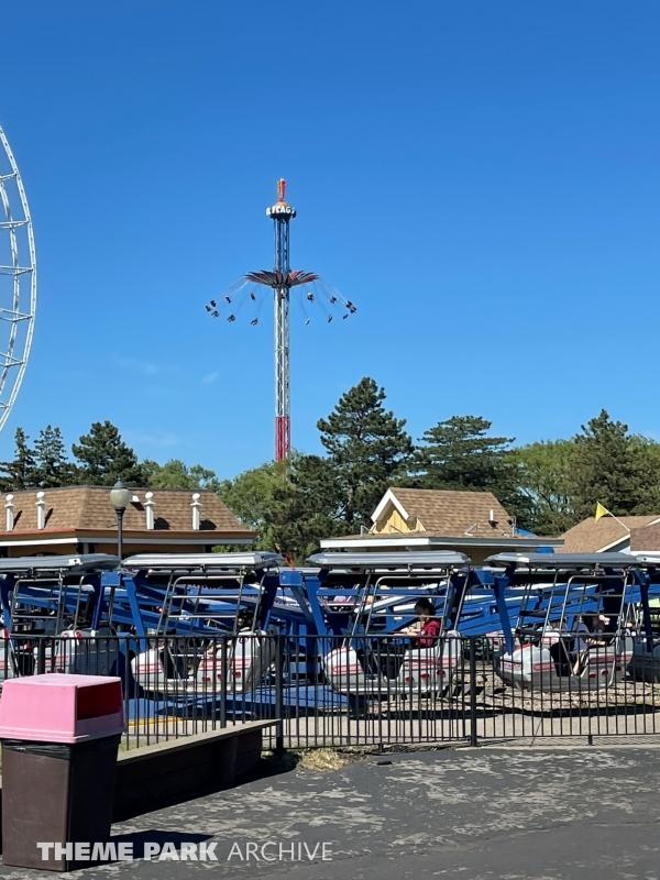 Silver Bullet at Six Flags Darien Lake