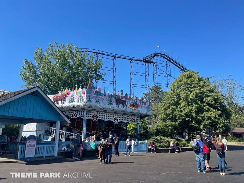 Sleighride at Six Flags Darien Lake
