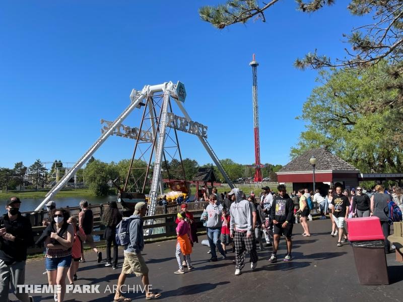 Pirate at Six Flags Darien Lake