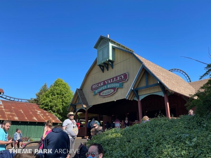 Bear Valley Bumper Buggies at Six Flags Darien Lake