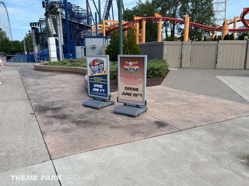Celebration Plaza at Cedar Point