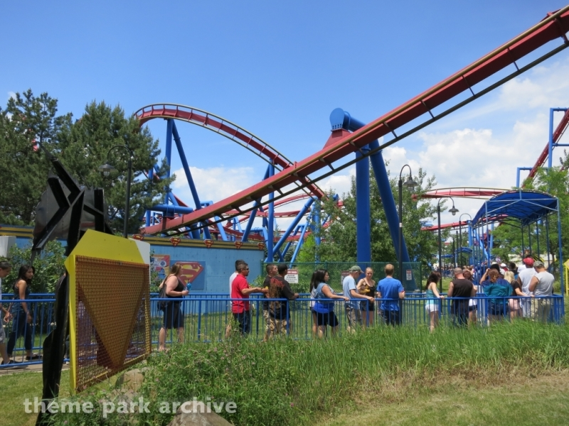 Superman Ultimate Flight at Six Flags Great America
