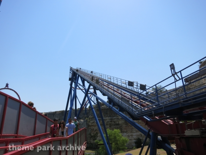Superman Krypton Coaster at Six Flags Fiesta Texas