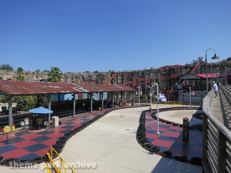 Thunder Beach Speedway at Six Flags Fiesta Texas
