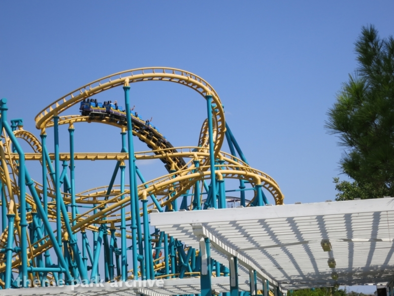Poltergeist at Six Flags Fiesta Texas