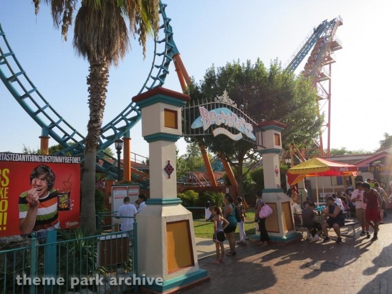 Boomerang Coast to Coaster at Six Flags Fiesta Texas