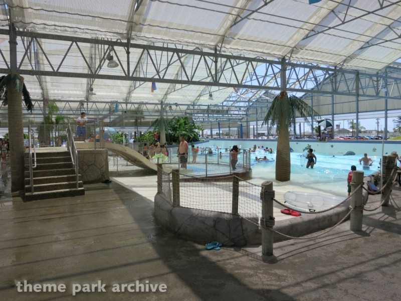 Torrent Beach at Schlitterbahn Galveston Island