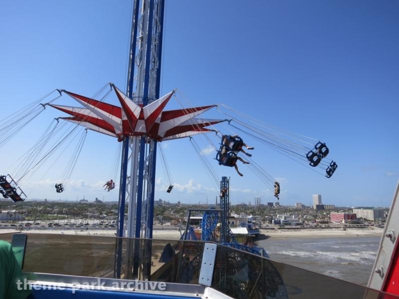 Texas Star Flyer at Galveston Island Historic Pleasure Pier