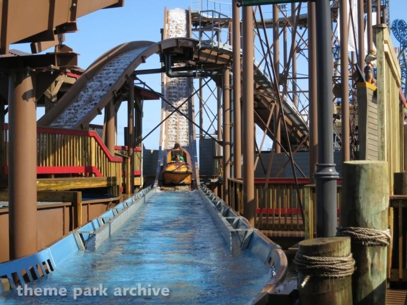 Pirate's Plunge at Galveston Island Historic Pleasure Pier