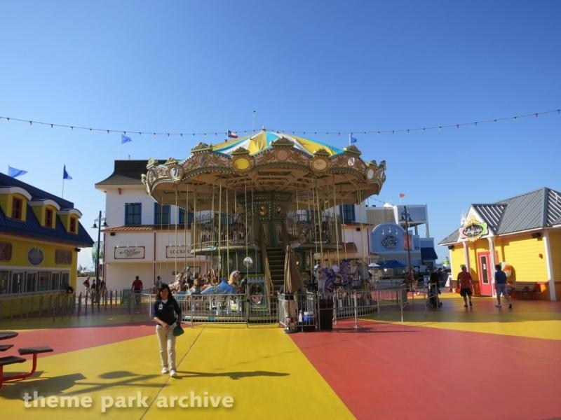Double Decker Carousel at Galveston Island Historic Pleasure Pier