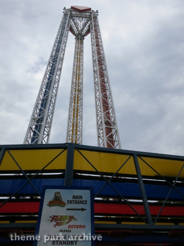 Superman Tower of Power at Six Flags Over Texas
