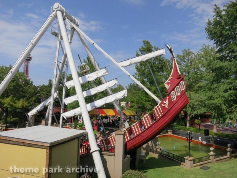 Conquistador at Six Flags Over Texas