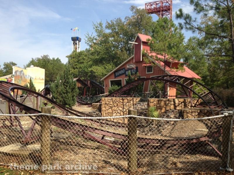 Diamond Mine Coaster at Magic Springs & Crystal Falls