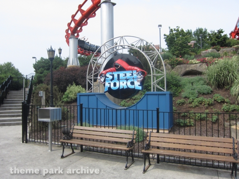 Steel Force at Dorney Park