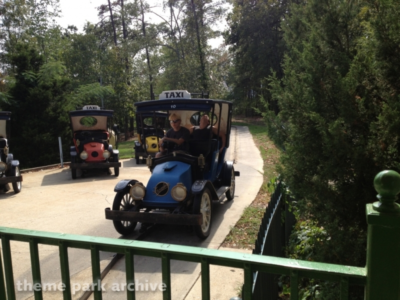 Ozark Mountain Taxi Company at Magic Springs & Crystal Falls