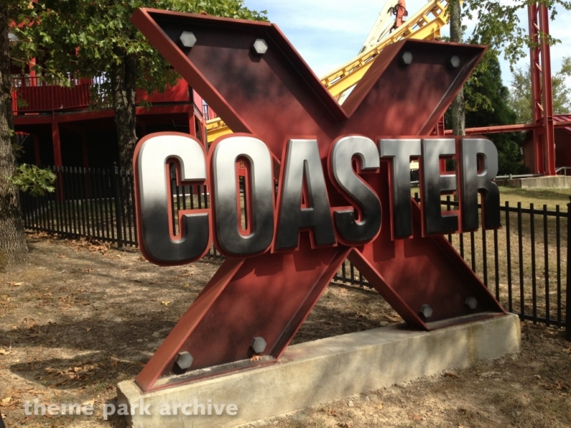 X Coaster at Magic Springs & Crystal Falls