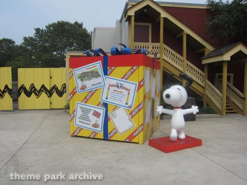 Planet Snoopy at Dorney Park