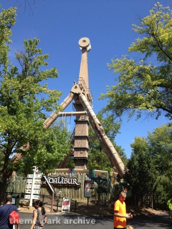 Xcalibur at Six Flags St. Louis