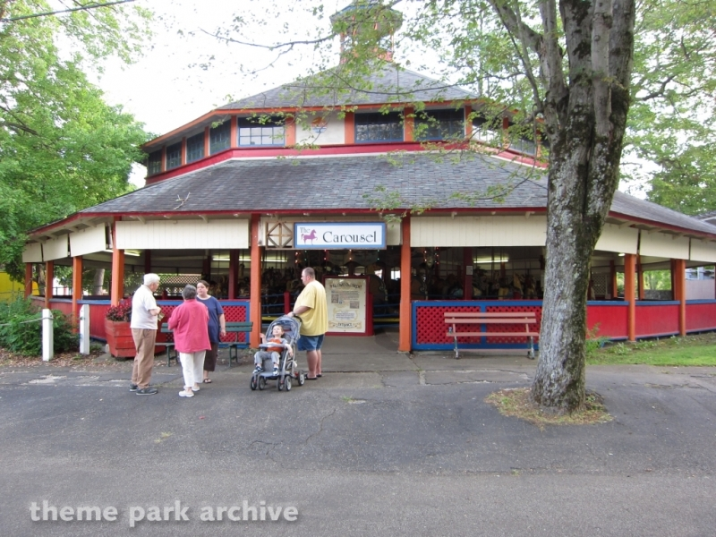 Carousel at Conneaut Lake Park