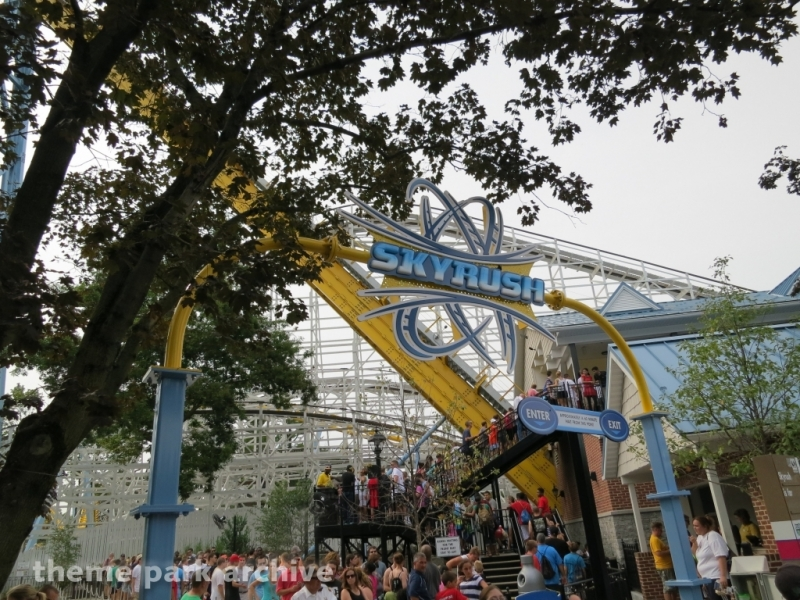 Skyrush at Hersheypark
