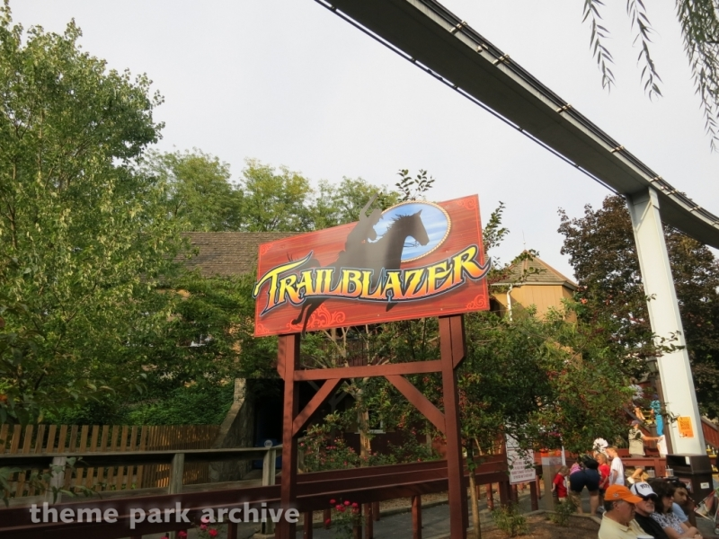 Trailblazer at Hersheypark