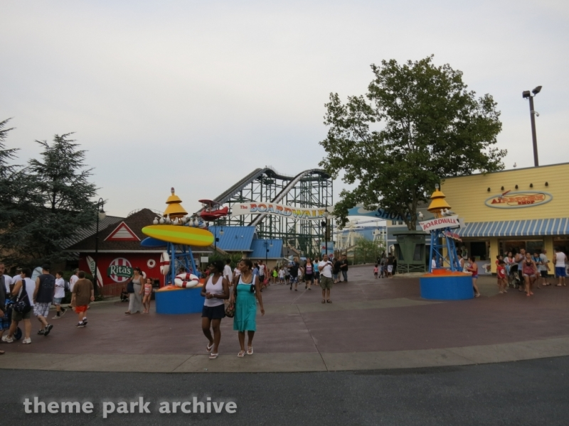 The Boardwalk at Hersheypark