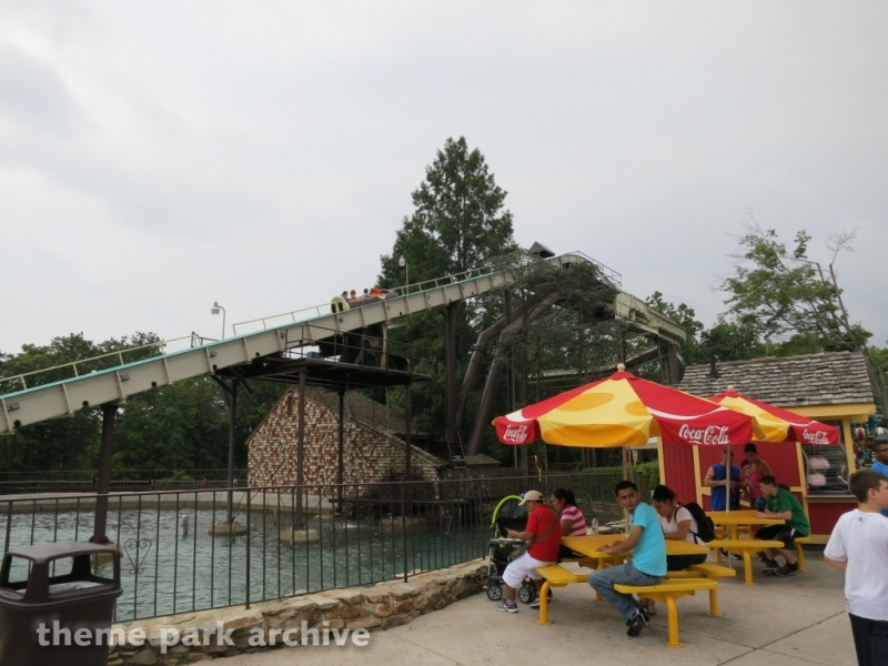 Saw Mill Log Flume at Six Flags Great Adventure