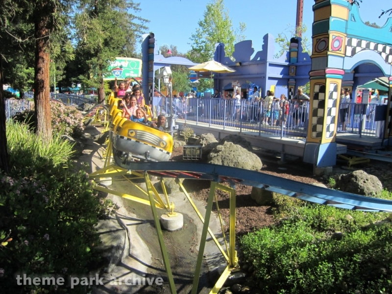 Taxi Jam at California's Great America